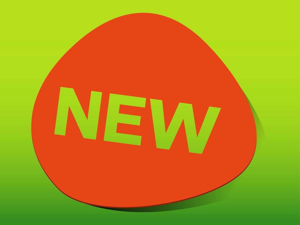 New Product Sticker Vector Art & Graphics