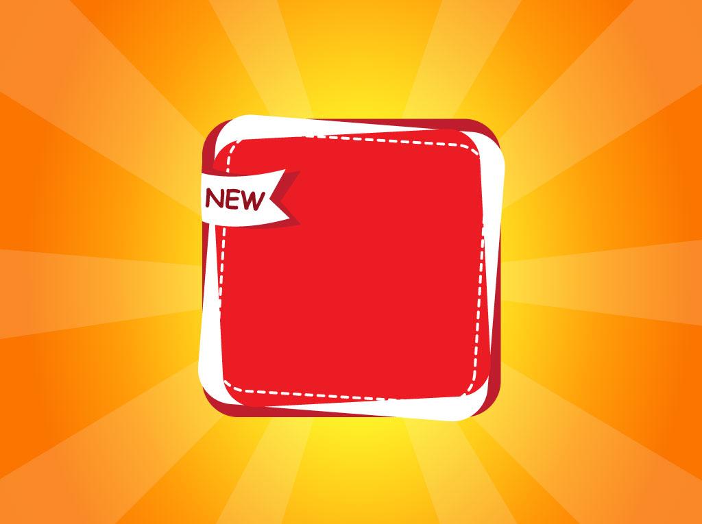 New Icon Banner Vector Art & Graphics
