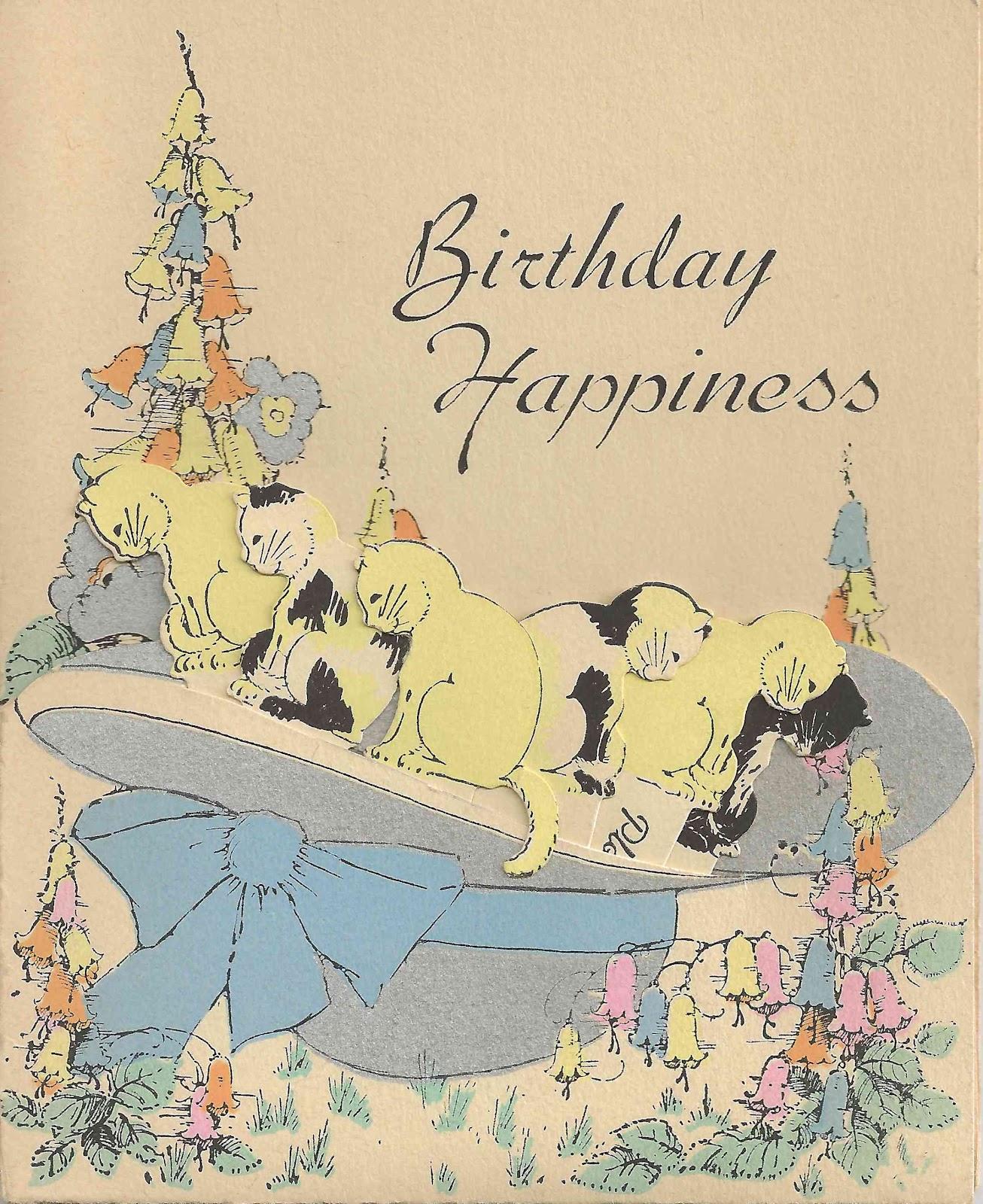Birthday Free Vintage Illustrations