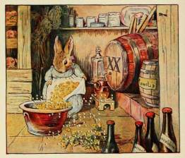 A lovely free vintage image of a Beatrix potter story
