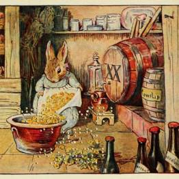 A lovely free vintage image of a Beatrix potter story