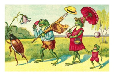 public domain frog illustration 3