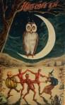 public domain vintage owl image 6