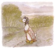 free public domain vintage illustration of ducks 2 beatrix potter