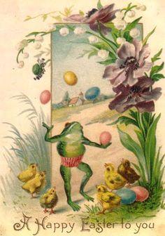 frog juggle