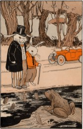 public domain vintage childrens book illustration billy bunny daddy fox 2 hugh spencer