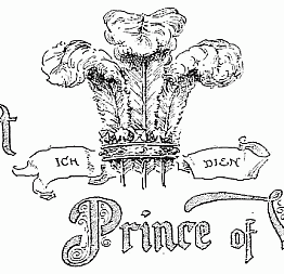 Public Domain Vintage Childrens Book Illustration The First Price Of Wales Brundage Frances
