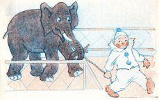 public domain vintage childrens book illustration the magic soap bubble 5 david corey