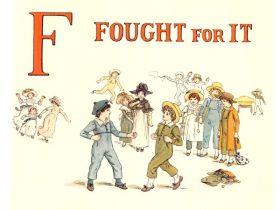 public domain vintage childrens book illustrations kate greenaway apple pie f