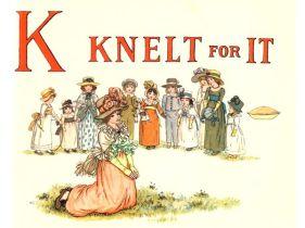 public domain vintage childrens book illustrations kate greenaway apple pie k