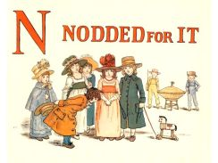 public domain vintage childrens book illustrations kate greenaway apple pie n