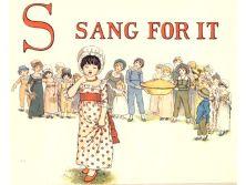 public domain vintage childrens book illustrations kate greenaway apple pie s