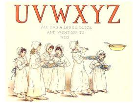 public domain vintage childrens book illustrations kate greenaway apple pie uvxyz