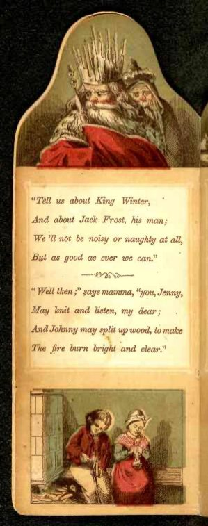 free vintage book illustration king winter image 04