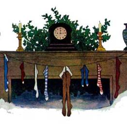 public domain image twas the night before christmas pic 2