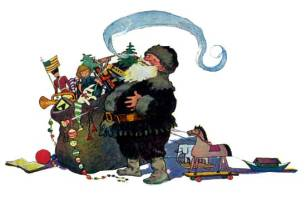 public domain image twas the night before christmas pic 8