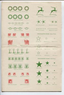 free antique christmas graphics 1940s image 3