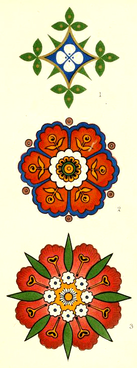 A free vintage decorative design inspired by symmetry in nature