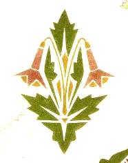 A free vintage botanical inspired decorative illustration