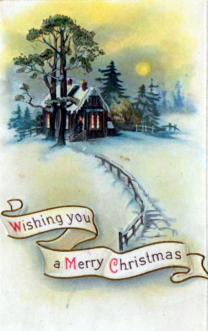 Free Vintage Christmas Cards in the Public Domain | Free