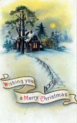 Free Vintage Christmas Cards In The Public Domain Free