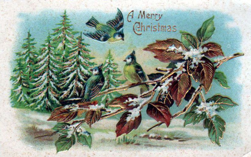 Vintage Christmas Illustrations.Winter Illustrations From The 19th 20th Century Free