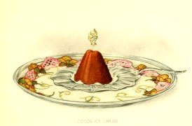 free chocolate ice cream dessert illustrations in the public domain