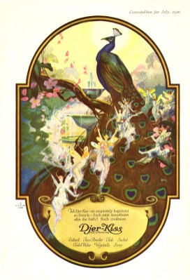 vintage fairy bird illustrations 1920 public domain