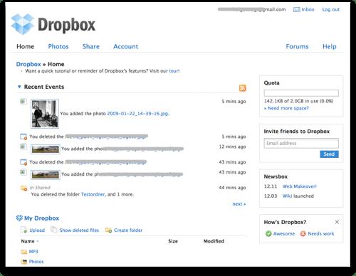 dropbox-web