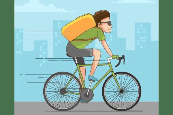 bicycle speeding