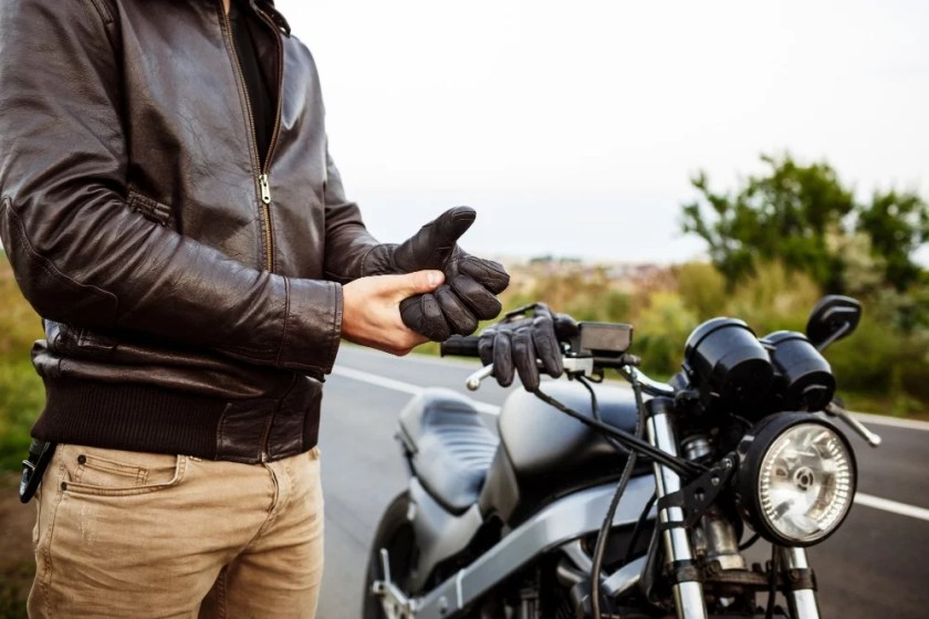 riding a motorcycle safely