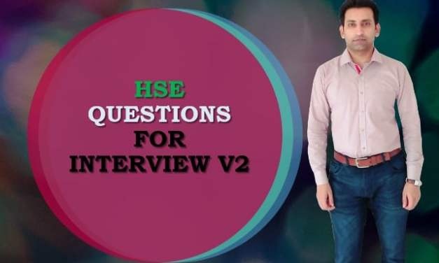 HSE QUESTIONS FOR INTERVIEW V2