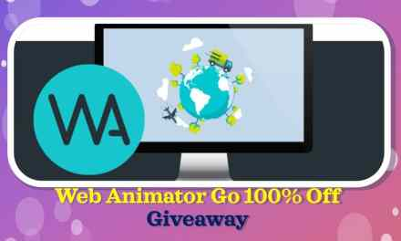 GIVEAWAY Web Animator GO 100% Off