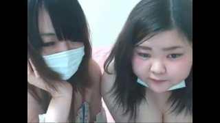 Japanese BBW Lesbians on Webcam