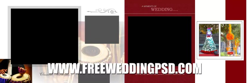 free psd wedding dvd cover