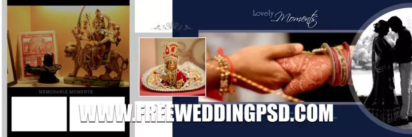 wedding album mockup psd free