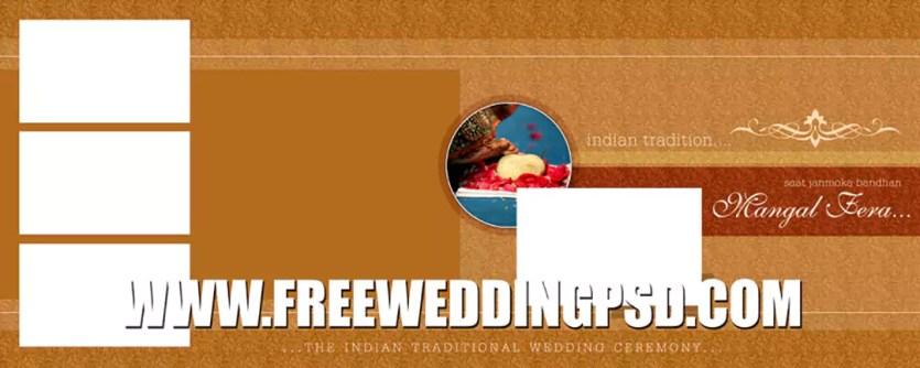 wedding poster psd free download