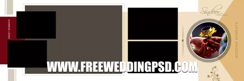 wedding photo psd free download