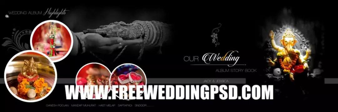 album wedding psd