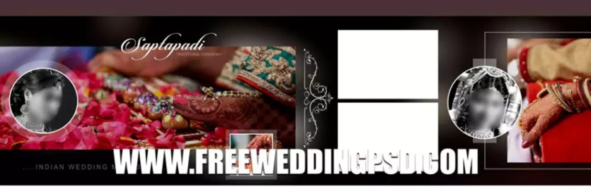 wedding program psd free download