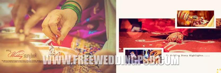 New 2020 Wedding Album 12×36 PSD Designs VOL 01-10