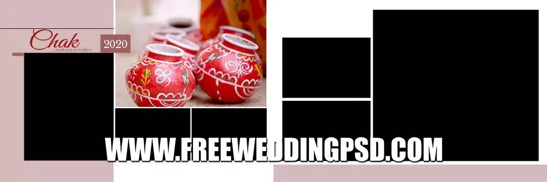 New 2020 Wedding Album 12×36 PSD Designs VOL 41-50
