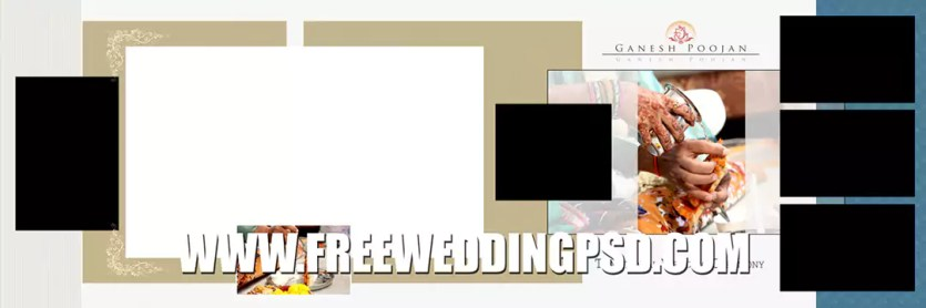 free wedding album psd