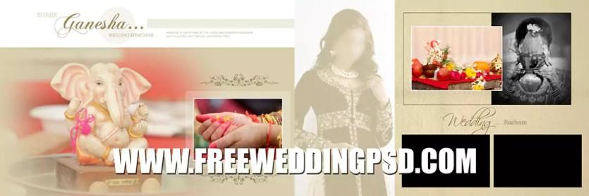free wedding album psd templates download