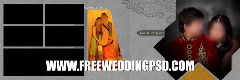 wedding psd templates download