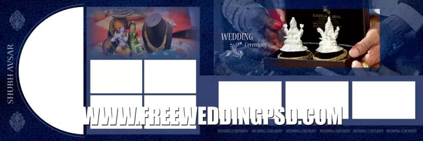 wedding layout psd