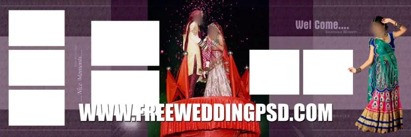 wedding photo psd templates