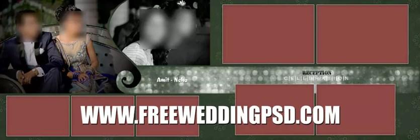 indian wedding photography album design psd