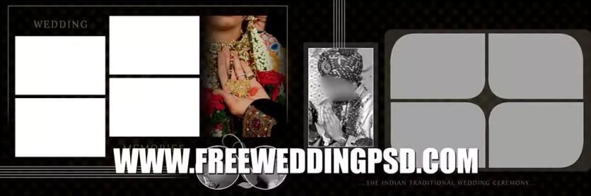 indian wedding album design 12x36