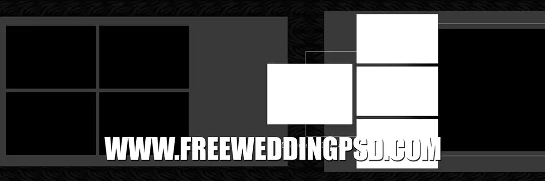 Free Wedding Psd 12 X 36 (783) | Album Design